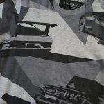 最近購入したもの。ハイドロゲンのウラカン風Tシャツ、バルマンのバイカーズパンツ