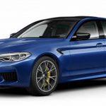 """0-100キロ加速3.3秒、最高速度は305km/h以上。BMW M5""""コンペティション""""の情報がリーク"""