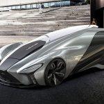 """デザイナーの考える「セレブ限定」レクサス""""Kaze""""。V8ハイブリッド、800馬力"""