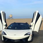 マクラーレンがNo.1の市場、アメリカで5,000台目を納車。シリカ・ホワイトの570S