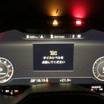 アウディTTのオイルレベル警告灯が点灯。走行15000キロ、そろそろオイル量が「下限」に?