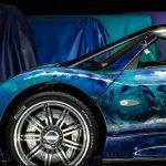 パガーニ・ゾンダSのアートカー登場。サウジの芸術家の表現した「走るアート」