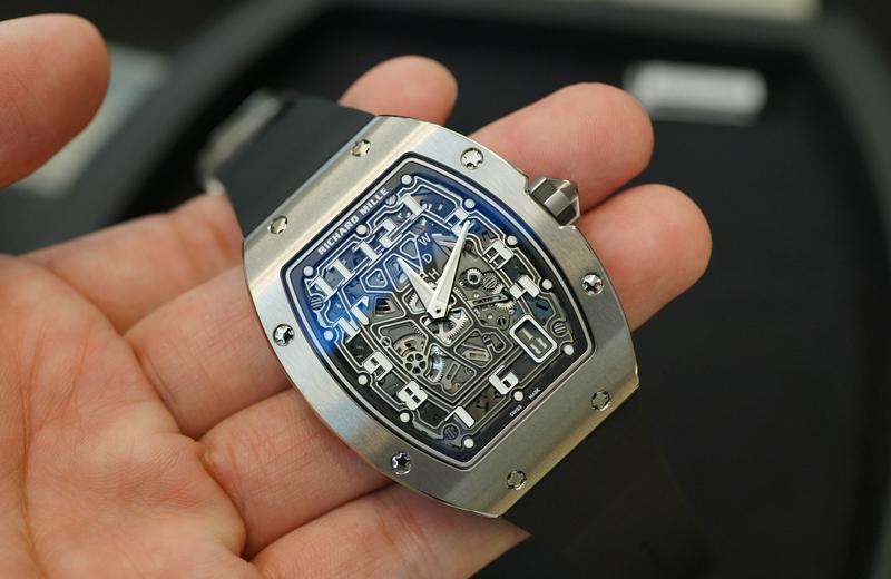 new product 7419c d055e 資産としての購入はアリ?リシャール・ミルの腕時計に手を出そう ...