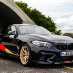 BMW M2にワールドカップ仕様が誕生。ドイツ国旗カラー採用、前後ホイールは色違い