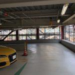 大阪でスーパーカー/スポーツカーを安心して停めておける駐車場、「大阪ステーションシティ駐車場」
