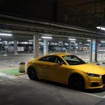 アウディTT洗車。黄色いクルマは特有の苦労がある?でも良いこともたくさんある