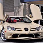 世界に一台、アイボリーのメルセデス・ベンツSLRマクラーレン販売中。価格は4800万円