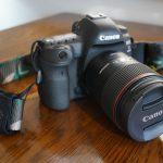 キャノンのデジタルカメラ、「EOS 5D Mark Ⅳ」を購入。デカくて重いがいい写真が撮れそう