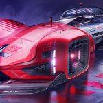 舞台は2088年のトーキョー・シブヤ!デザイナーが未来のレースとレーシングカー「ホンダ・サイバーレース」公開