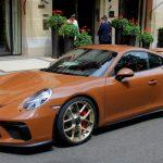 """ブラウンのポルシェなど珍しいボディカラーの車たち。なぜ最近は""""珍しい色""""が増えたのか?"""