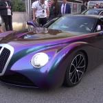 【動画】世にも奇妙なコルベットベースのカスタムカー、「イードン(1.6億)」がモナコを走る