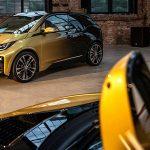BMWが純金を使用したグラデーション塗装を持つi3/i8のワンオフモデル「スターライト」発表