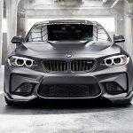 BMWがM2を「-60kg」に仕上げるオプションパーツを公開。軽量バッテリーは-14kg