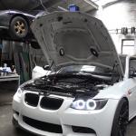【動画】カスタムベースとしてE92 BMW M3は大人気!コルベットZ06の6.2リッターV8がスワップされたM3