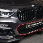 BMWアブダビがX4のカスタムを披露。これは採り入れたい、グリル、ホイールの「レッド」ライン