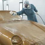 ポルシェ911(993)のレストア「プロジェクト・ゴールド」第5弾。ついに塗装が完成しエンジン装着