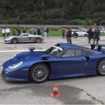 【動画】ポルシェの頂点、「911GT1」と「カレラGT」とのドラッグレース!その加速を見てみよう
