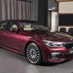 BMWアビダビがまたしてもカスタムされた7シリーズ公開。今回は濃いピンクの「ワイルドベリー」