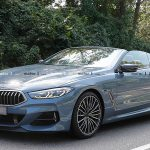 マフラーエンド太すぎ!新型BMW 8シリーズ・カブリオレ最新スパイフォト