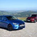 マツダが英国市場専用にてデミオ、CX-3に限定モデル「ブラック・プラス・エディション」追加