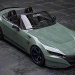 ホンダS2000が現代に登場したら?NSXのフロントデザインを持つ新型S2000のレンダリング