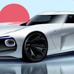 トヨタ2000GTが現代に復活するとこうなる?クールでクリーンなレンダリングが公開