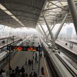 """開通したばかりの「香港-中国」を結ぶ""""広深港高速鉄道""""に乗ってきた!"""