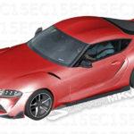 新型トヨタ・スープラのデザインはこれで決まり?ほぼ間違いない内外装の予想イラスト、ボディカラーも公開に