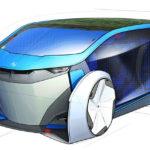 2030年に「BMW i」はこうなる。デザイナーがなかなかカッコイイ、完全自動運転の「iコーチ」を提案