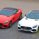 メルセデスAMG GTに謎プロトタイプ登場。直6+ハイブリッドモデルが登場か?