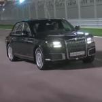 【動画】プーチン大統領がロシア製リムジンPRのために自ら運転しF1サーキットを走る!