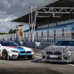 BMWが新型M8のティーザー開始。なんと「M8 GTE」とともに試乗イベントを開催しその速さをアピール