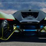 未来のランボルギーニはこうだ。フルエレクトリックな「ランボチャレンジ」