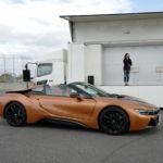 BMW i8ロードスターを見てきた!ボクが考える「最も乗り降りしにくいクルマ」はこうなっている