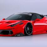リバティーウォークが新シリーズ「LBシルエットワークスGT」発表!もうまんまレーシングカー