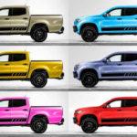 まさかのピンクも!メルセデス・ベンツが公式にて「Xクラス」に100色ものボディカラーを設定