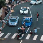 【動画】これがモナコの日常?ブガッティEB110、ランボルギーニ・ディアブロほかレアなスーパーカーたちが登場