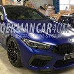 まるでチューンドカー!ド迫力な新型BMW M8コンペティションの画像がリークされる
