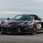 やはり相場は10億?ブラック×レッドのラ・フェラーリ・アペルタが競売に登場予定。ブラックは今ではレッドを凌ぐフェラーリの人気カラーに