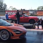 【動画】1000馬力のダッジ・チャレンジャー・デーモンも何のその。無慈悲なまでにマクラーレン720Sが加速競争でぶっちぎる