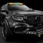メルセデス・ベンツのトラック「Xクラス」が6輪化!外装フルカーボン、ブレーキはカーボンセラミック