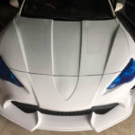 「ワイルドスピード」登場車両の製作を手がけたヴェイルサイドがトヨタ86/SUBARU BRZを新型スープラ風にカスタムするエアロキットを開発中