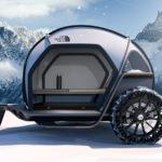 "BMWとノースフェイスとのコラボ、キャンパーコンセプトが公開。世界で最も進んだ""布""を使った、「テントとクルマの融合」"