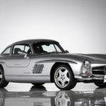【競売】まさかの「メルセデス・ベンツ300SLガルウイング」をAMGがカスタムした車両が登場!内外装は現代基準にアップデート、そして日本人の1オーナー