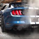 【動画】マスタング史上最強モデル!シェルビーGT500の「ドライブモードごと」のアクセルレスポンスとサウンドはこう違う