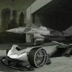 デザインイメージはユーロファイター(戦闘機)!ランボルギーニ「レイトン」コンセプト」はエレクトリック時代のシングルシーターレーシングカー