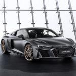 アウディが「ブラックとゴールド」「マットとグロス」を使用したゴージャスなR8「Decennium Edition」を発表。V10エンジン10周年記念モデル