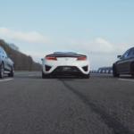 【動画】ホンダNSXとはいったい何だったのか?メルセデスAMG E63、BMW M5との勝負にどうしようもなく負けてしまう