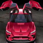 イタルデザインがガルウイング4シーター「ダ・ヴィンチ」発表!ショー終了後に別の自動車メーカーからこれが発表されるというウワサも