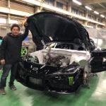 新型トヨタGRスープラに2JZエンジンを搭載したドリフトマシン完成間近!3/23-24にお台場に登場するぞ!